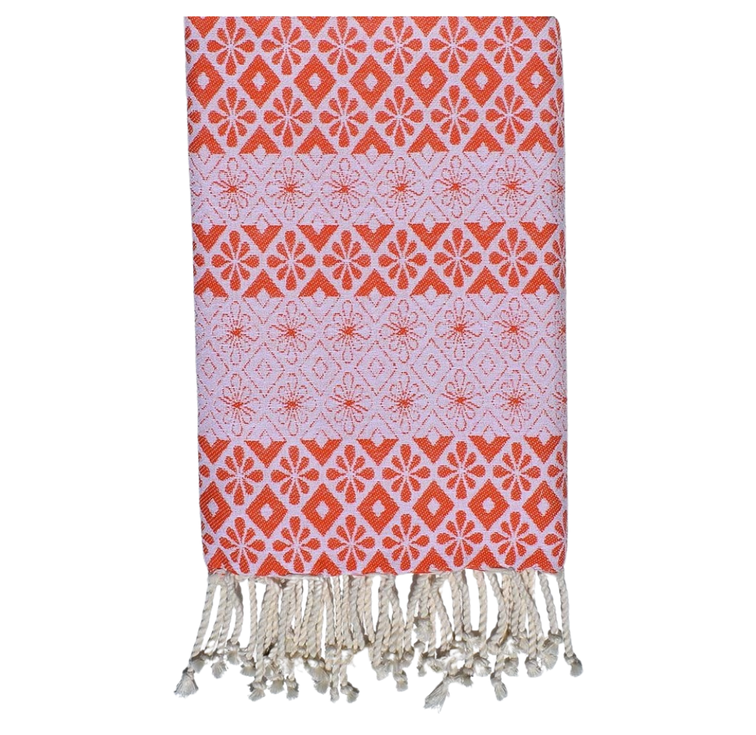 FOUTA JASMIN ORANGE